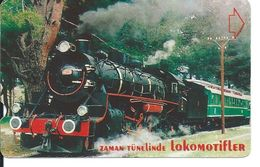 Train Locomotice Train Télécarte Turquie Phonecard Telefonkarte  (S. 816) - Turquie