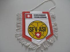 Fanion Football - FEDERATION - SUISSE - Habillement, Souvenirs & Autres