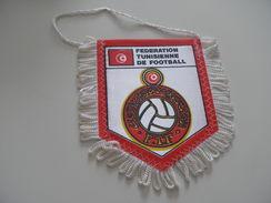 Fanion Football - FEDERATION - TUNISIE - Habillement, Souvenirs & Autres