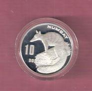 AUSTRALIE 10 DOLLARS 1995 SILVER PROOF NUMBAT - SCRATCHES ONLY ON CAPSEL - Monnaie Décimale (1966-...)