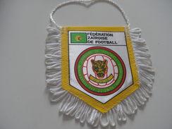 Fanion Football - FEDERATION - ZAIRE - Habillement, Souvenirs & Autres