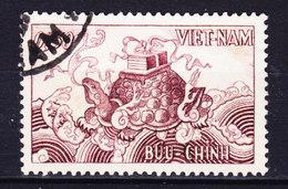 Vietnam 1955 Mi. 98   0.30 P Genfer Abkommens Glückbringende Schildkröte Turtle Tortoise - Vietnam