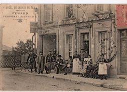 VENDOME, Hotel Du Chemin De Fer Tenu Par Renard ( Port Gratuit ) - Vendome
