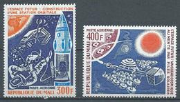 Mali Poste Aérienne YT N°271/272 Réalisations Spatiales Futures Neuf ** - Mali (1959-...)