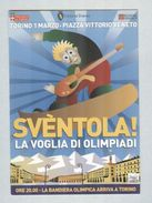 XX GIOCHI OLIMPICI TORINO..ANNULLO  FILATELICO...IJSSCHAATSEN.. PATTINAGGIO...SKATING...PATINAGE - Sports D'hiver