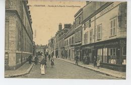CHARTRES - Entrée De La Rue Du Grand Faubourg (commerces) - Chartres