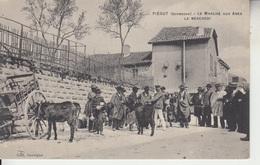 24 - PIÉGUT - Le Marché Aux Ânes, Le Mercredi - France