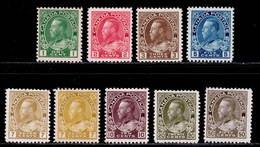 Canada 1911-1922 MH Set + Variety SG 196/215 Cat £301 - 1911-1935 George V
