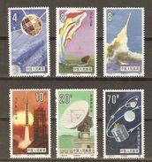 Chine - 1986 - National Space Industry - Vols Spatiaux - Série Complète MNH - SC 2020/25 - Satellite - Fusée - Ongebruikt