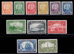 Canada 1928 MH Set SG 275/285 Cat £375 - 1911-1935 George V