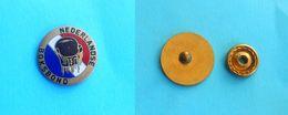 HOLLAND BOXING FEDERATION  Vintage Enamel Pin Badge Boxing Boxe Boxeo Boxen Pugilato Distintivo Anstecknadel Netherlands - Boxing