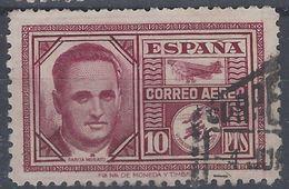 España U 0992 (o) Garcia Morato. 1945. Foto Exacta - 1931-50 Gebraucht