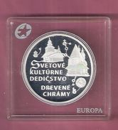 SLOWAKIJE 10 EURO 2010 SILVER PROOF UNESCO WORLD HERITAGE  - SCRATCHES ONLY ON CAPSEL - Slovaquie