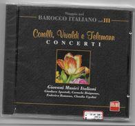 Corelli Vivaldi E Telemann Concerti Barocco Italiano - Classique