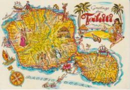 (MAP3) TAHITI. MAP. MAPE - Mapas