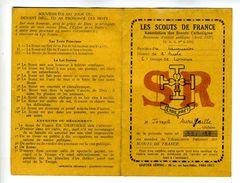VPX1 Aude,  Limoux (voir Scan2) Les Scouts De France, Carte De Membre - Documentos Históricos