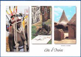 Ivory Coast, Danseuse, Cases, Sculpteur Senoufo - Danze