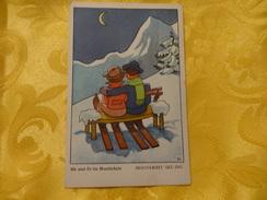 Sie Und Er Im Mondschein - Moonlight Ski-ing / Ejo (1350) - Coppie