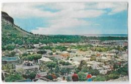 Cpsm Bon Etat , 9x14cm , Carte Grainée , Toilée , Maurice , Ville De Port-louis ,  Courrier Au Verso, Pas Courante - Mauritius