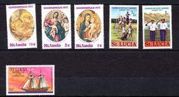 SANTA LUCIA. LOTE DE SELLOS - St.Lucia (1979-...)