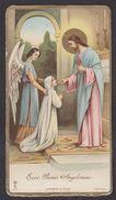 LUSTIN Marie Thérèse Polet 1932  Image Pieuse Religieuse Santini Holy Card Souvenir De Communion - Images Religieuses