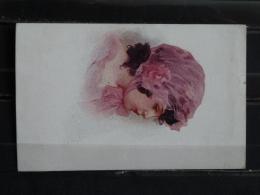F17 - Illustrateur Simeone - 1916 - Jeune Fille Aquarelle - Künstlerkarten
