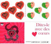 France.carnet Bc3298a.saint Valentin.année 2000.neuf Non Plié. - Carnets