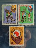 SENEGAL 1971 Y&T N° 358 à 360 ** - 6e CHAMPIONNATS D'AFRIQUE DE BASKET BALL - Sénégal (1960-...)