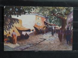 F17 - Illustrateur - Salonique - Marché Dans La Ville Haute - 1918 - Illustrators & Photographers