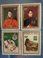 SENEGAL 1971 P.A. Y&T N° 104 à 107 ** - 150e ANNIV. DE LA MORT DE NAPOLEON I - Sénégal (1960-...)