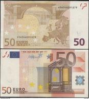 2002-BILLETE DE 50 EUROS-SIN CIRCULAR-M054F4 - - EURO
