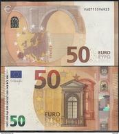 2017-NUEVO BILLETE DE 50 EUROS-SIN CIRCULAR-V001H5- - EURO
