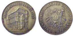 01893 GETTONE TOKEN JETON FICHA COMMEMORATIVE HISTORISCHER GASTHOF BINDING BRAUEREI  KRONE HOMBERG ERBAUT 1480 - Allemagne