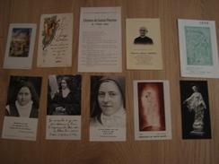 LOT D'IMAGES RELIGIEUSES - Devotion Images