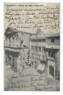FRASCATI - CHIESA DEL GESU E SEMINARIO 1917  VIAGGIATA FP - Roma