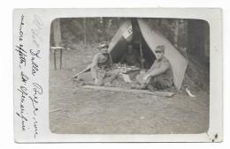 CAMPO MILITARE SOLDATI ITALIANI - STAB.TO FOTOGRAFICO BONOMO ASIAGO CARTA TENSI NV FP - War 1914-18