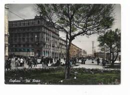 CAGLIARI - VIA ROMA  VIAGGIATA  FG - Cagliari