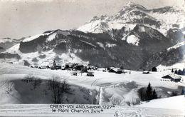 [73] Savoie > Non Classés Crest Voland Le Mont Charvin - Francia