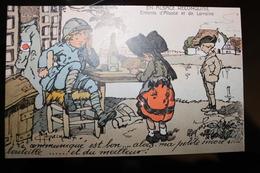 X1 - ILLUSTRATEUR -  Gaston MARECHAUX - En Alsace Reconquise - Enfants D'alsace Et De La Loraine - Illustrators & Photographers
