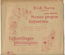 Partition Erik SATIE Enfantillages Pittoresques EO 1914 - Musique Classique