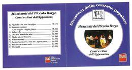 Musicanti Del Piccolo Borgo Canti E Ritmi Dell'Appennino - Musik & Instrumente
