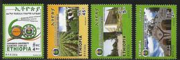 2016 Ethiopia University Agriculture Cattle Complete Set Of 4 MNH - Ethiopia