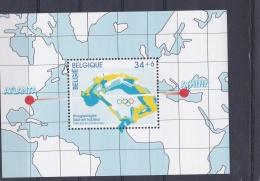 Belgium 1996 Atlanta Centennial Olympic Games  Souvenir Sheet  MNH/** (H26) - Zomer 1996: Atlanta