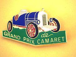 Pin's  GRAND PRIX DE CAMARET - Rallye
