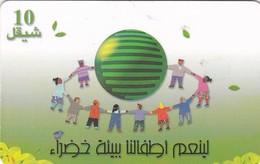 Palestine, PS-PAL-0011A, Green Environment, 2 Scans.   EXP : 03/2002 - Palestina