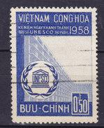 Vietnam 1958 Mi. 168   0.50 D Erkklärung Der Menschenrechte UNESCO /o - Vietnam