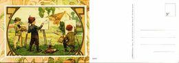 Enfants Peintres- Jordan Editions  XH23- Papier Marie VIT - Dessins D'enfants