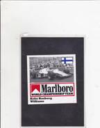 Sticker Marlboro - Keke Rosberg - Williams - Automobile - F1