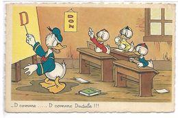 WALT DISNEY - DONALD - D Comme .... D Comme Dudule !!! - Disney