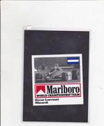 Sticker Marlboro - Oscar Larrauri - Minardi - Car Racing - F1